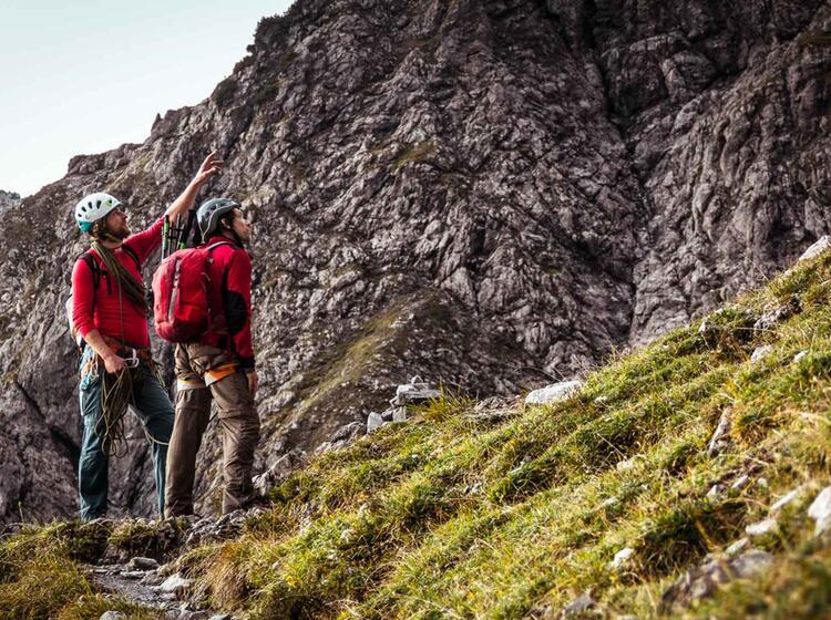 Mit Einheimischem Bergfuehrer Durch Die Watzmann Ostwand