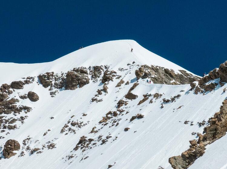 Moench Besteigung Im Berner Oberland