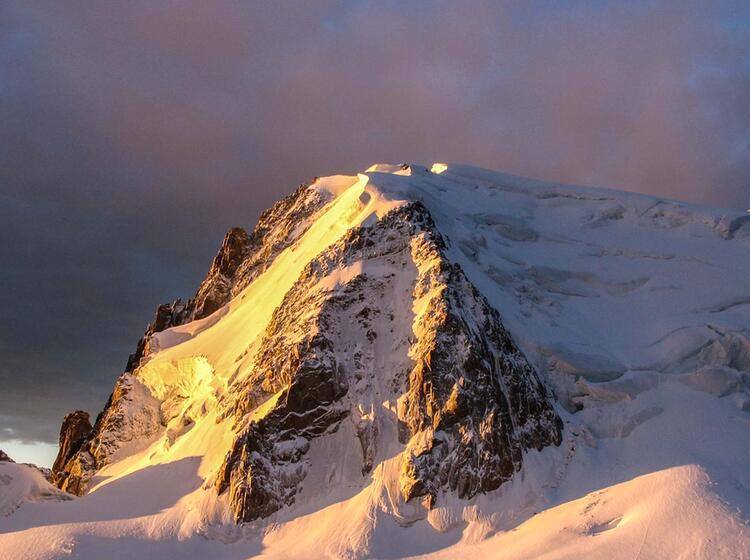 Mont Blanc Du Tacul Mit Bergfuehrer