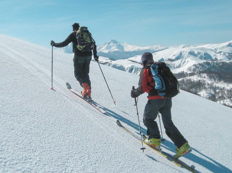Montenegro Skitouren Reise