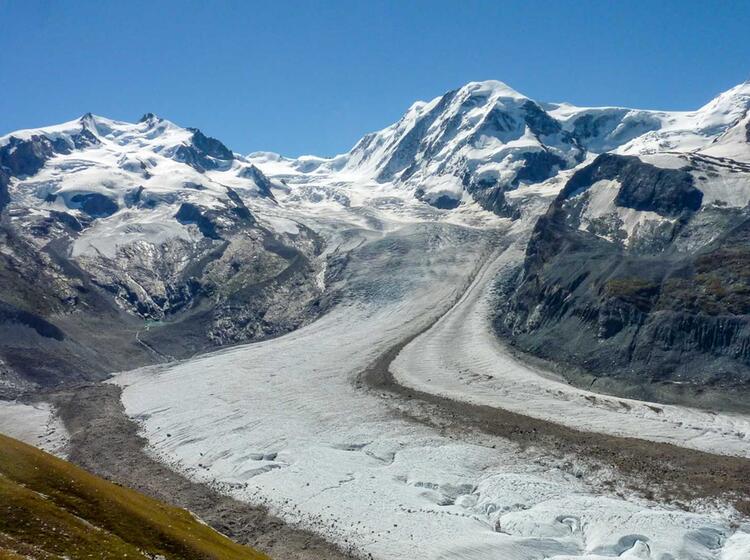 Monterosa Gefuehrte Touren Mit Der Alpinschule
