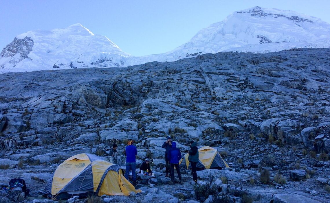 Mora Nenlager Huascaran Expedition