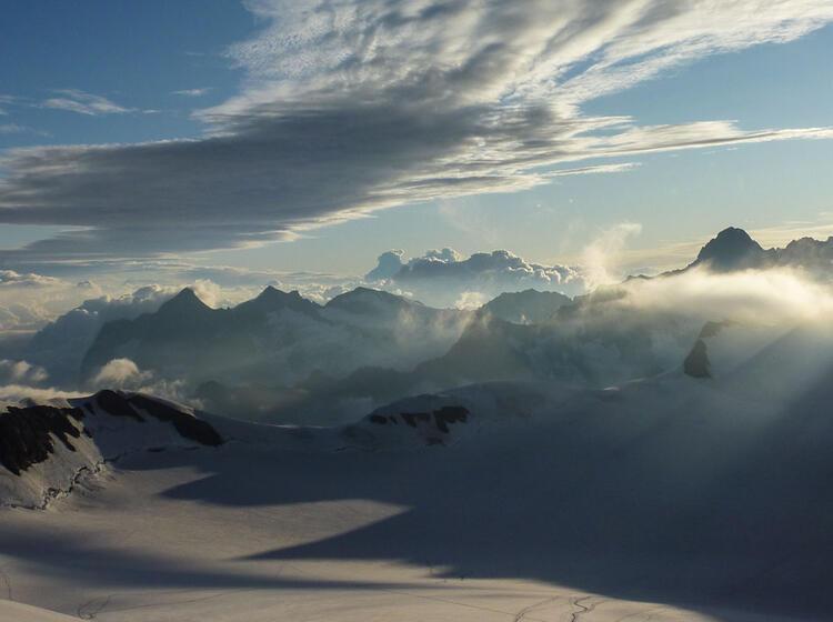 Morgenstimmung Am Jungfraugletscher