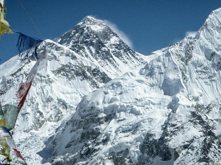 Mount Everest Vom Kala Pattar