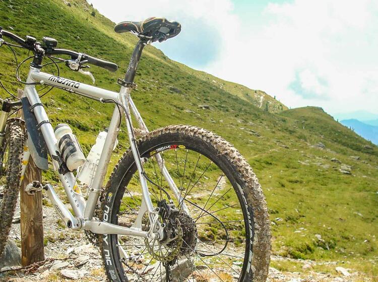 Mountainbiketour Dolomiten