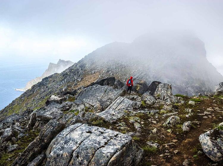Naturschauspiel Auf Den Lofoten