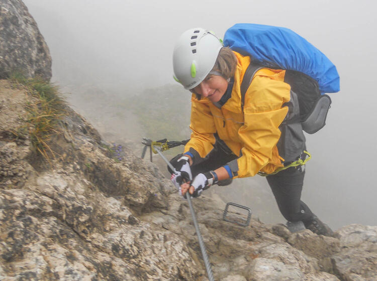 Nebel Am Iseler Klettersteig