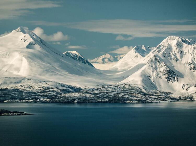 Norwegen Skitourenreise Vom Boot