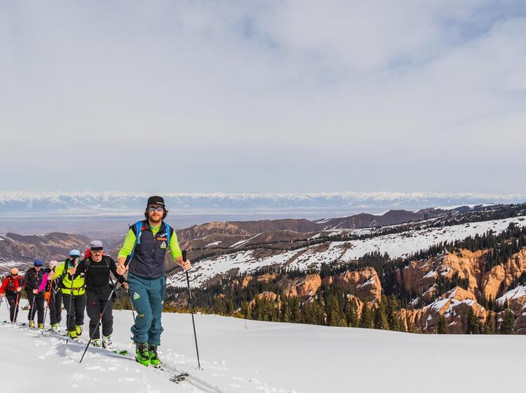 Organisierte Skitouren In Kirgistan