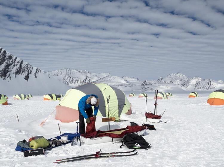 Packen Der Pulkas Fu R Die Su Dpol Expedition