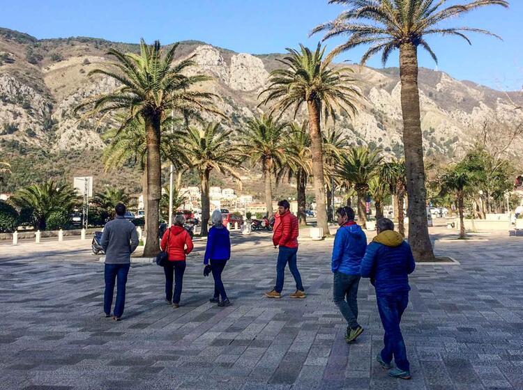 Palmen Und Skitouren In Montenegro