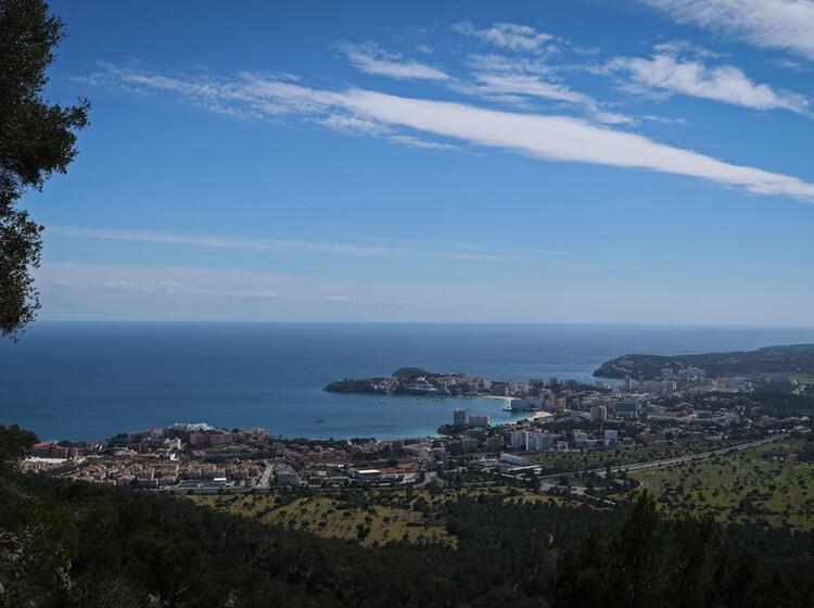 Panormablicke U Ber Mallorca