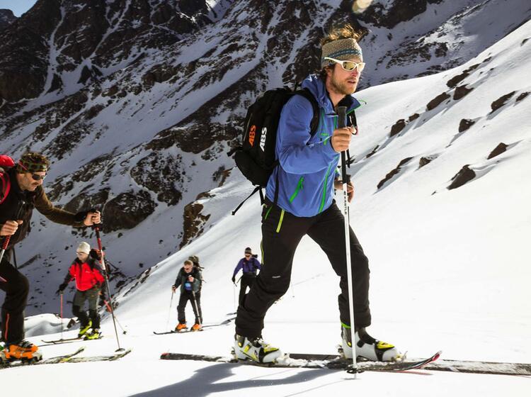Perfekte Skitouren In Marokko Von Der Toubkal Huette 1
