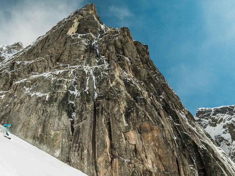 Perfekte Skitouren Verhaeltnisse Auf Den Lofoten