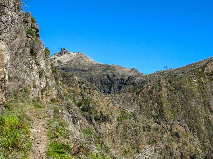 Perfektes Wandergebiet Madeira