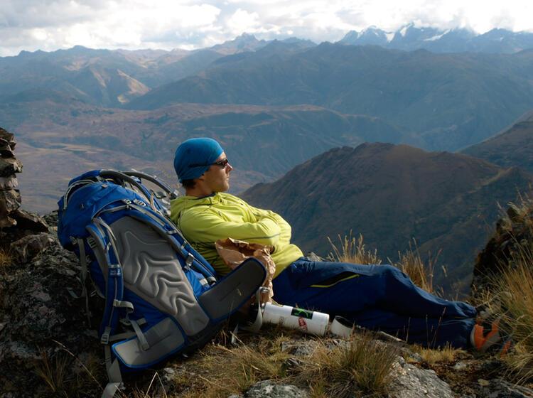 Peru Bergsicht