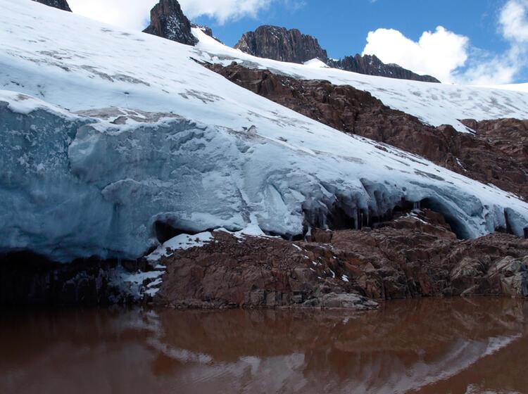 Peru Gletscherlagunge