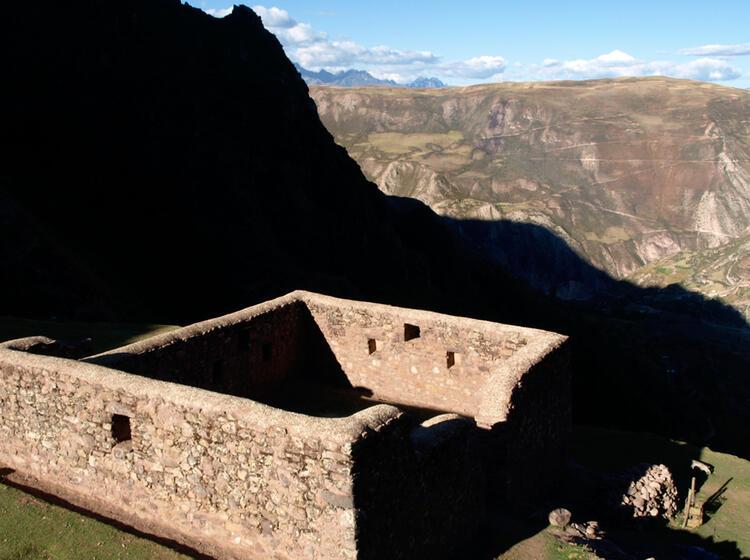 Peru Inka Ruine