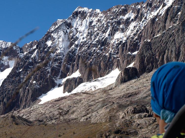 Peru Nevado Chicon Sicht