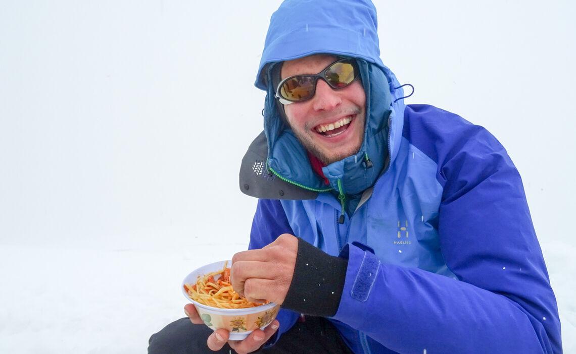 Philipp Beim Essen