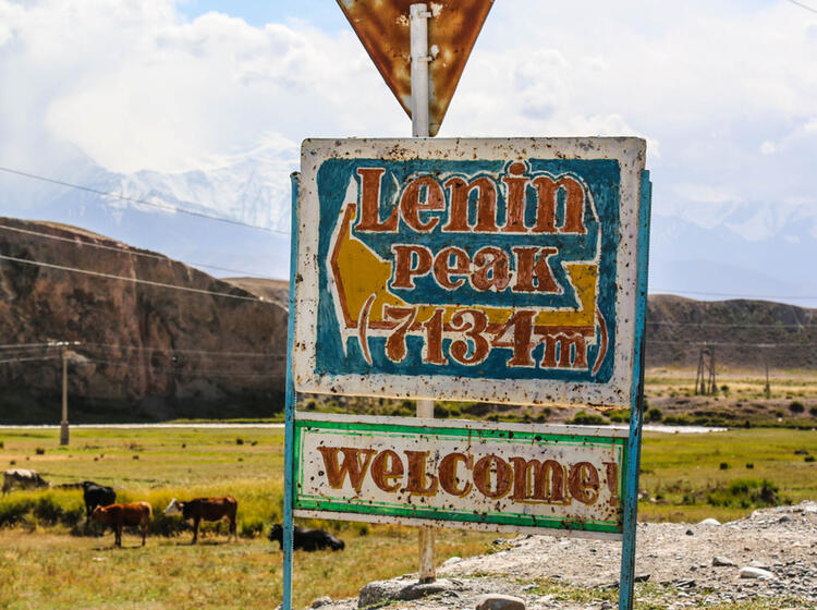 Pik Lenin Basecamp Trekking Gefuehrt