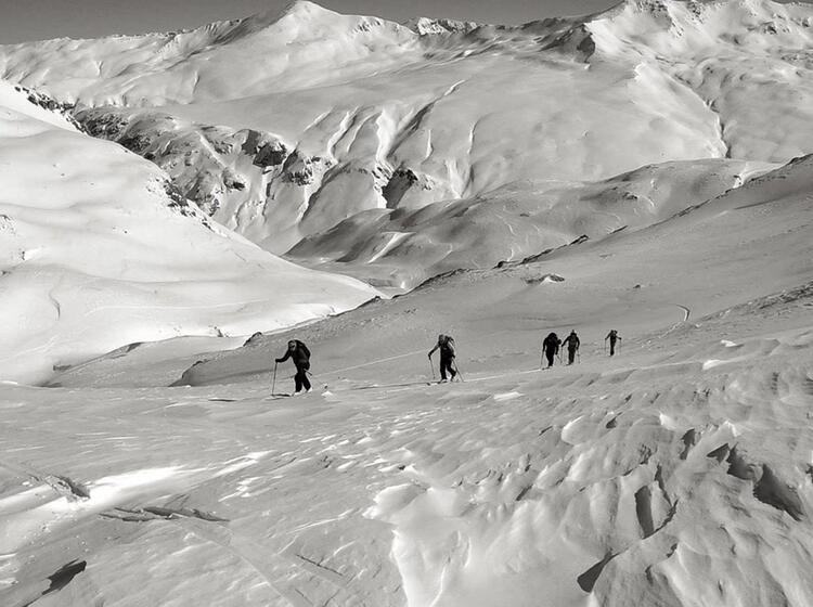 Piz Sesvenna Skitouren