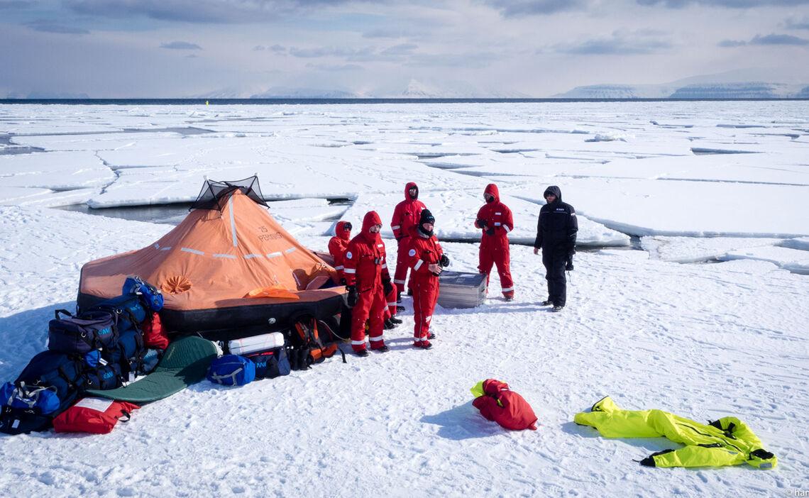 Polarcode Training Svalbard Spitzbergen 202