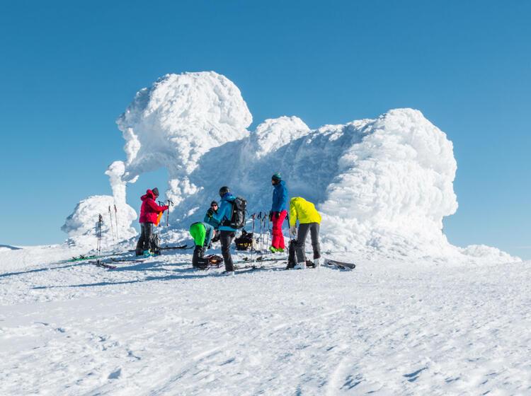 Polare Skitouren Region Spitzbergen