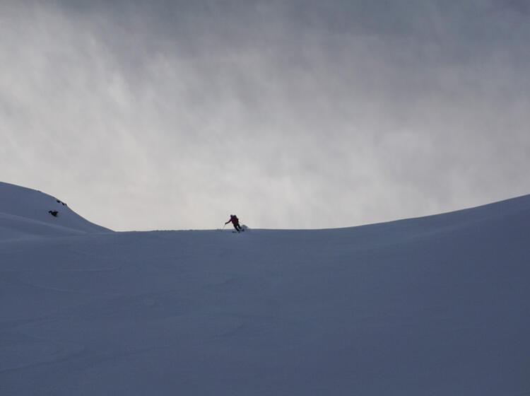 Powder Auf Der Ski Durchquerung Tour Du Ciel