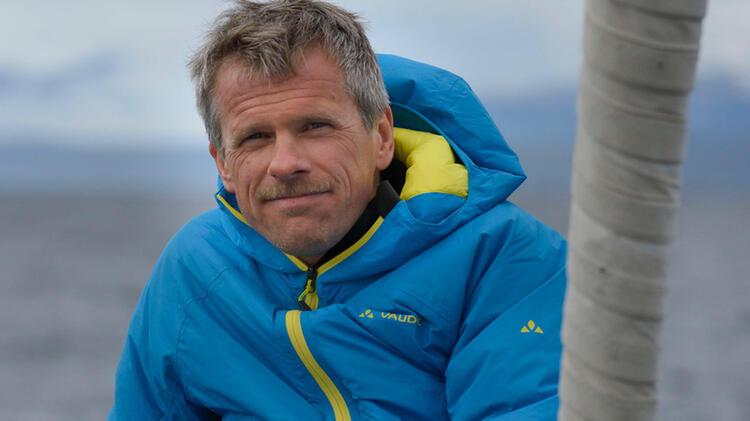 Rainer Pircher Auf Der Skitourenreise In Spitzbergen