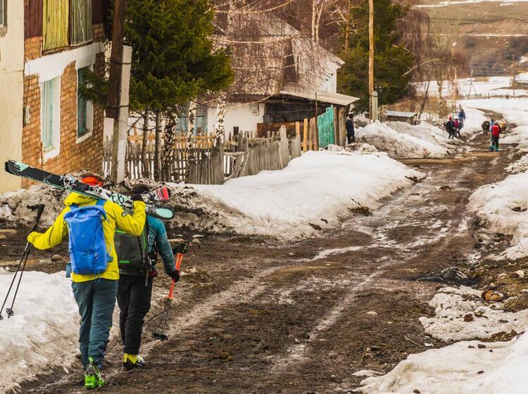 Reise Nach Kirgistan Zum Skitouren Gehen