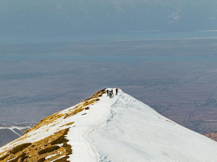 Reise Nach Kirgistan Zum Skitouren