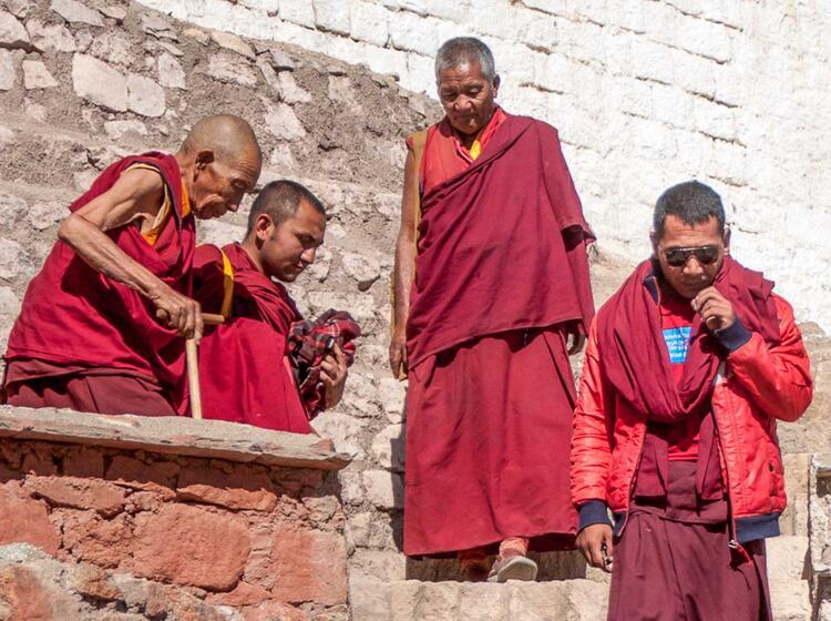 Religion Auf Der Trekkingreise Ladakh