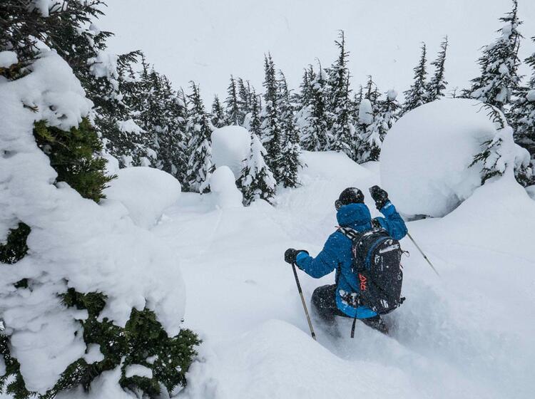 Revelstok Und Canmore Skitouren