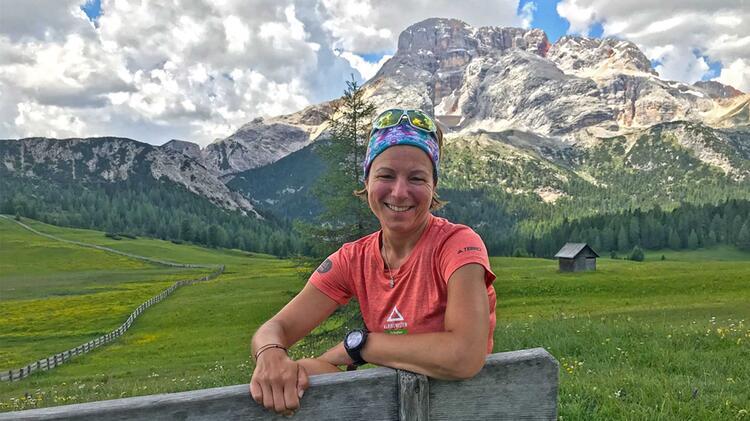 Sandra Wolf Bergwanderfu Hrerin Zugspitze