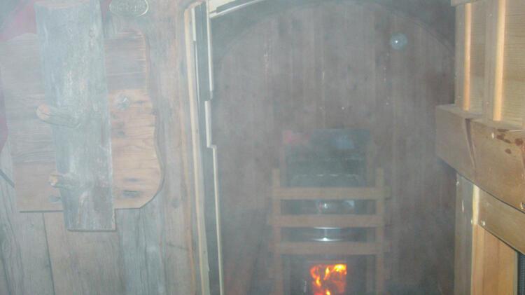Sauna Auf Der Lavarella Hu Tte