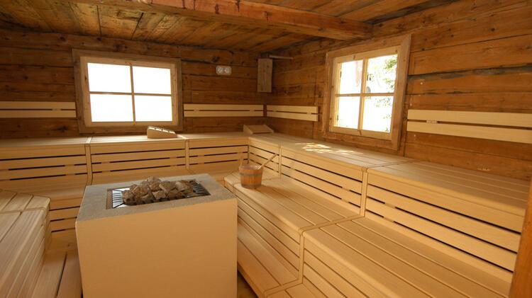 Sauna Und Wellness Bereich Im Hotel Moosmaier Auf Der Wanderwoche Suedtirol