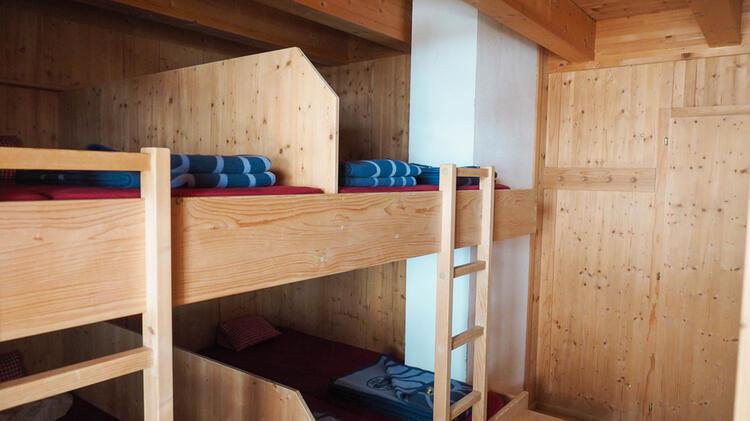 Schlaflager Joahnnishuette Am Grossvenediger