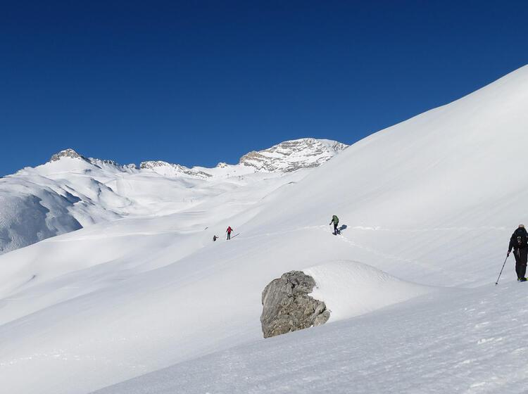 Schneeschuhtour An Der Zugspitze