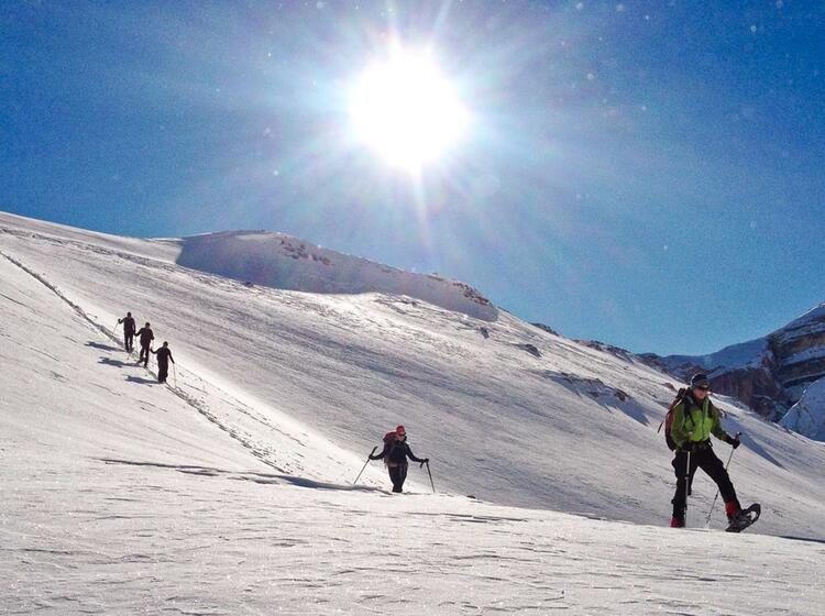 Schneeschuhtouren In Den Dolomiten Mit Bergfu Hrer