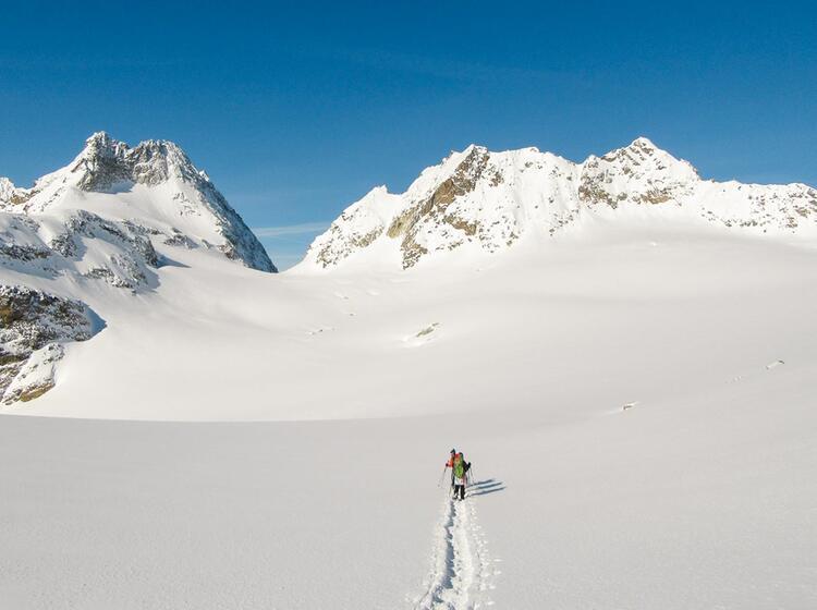 Schneeschuhtouren In Der Silvretta
