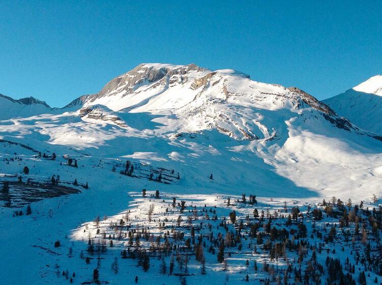 Schneeschuhtouren Rund Um Die Lavarella Und Fanes Hu Tte
