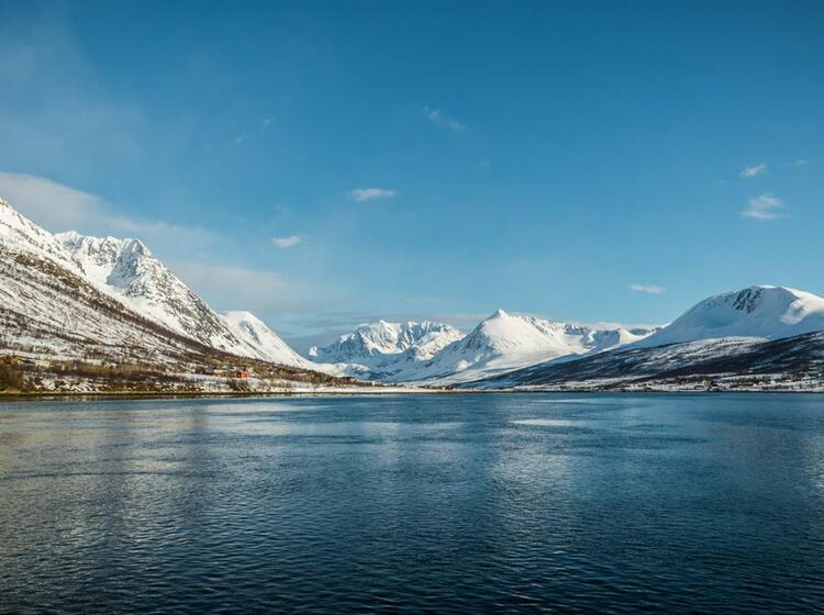 Segeln Und Skitouren In Norwegen 1