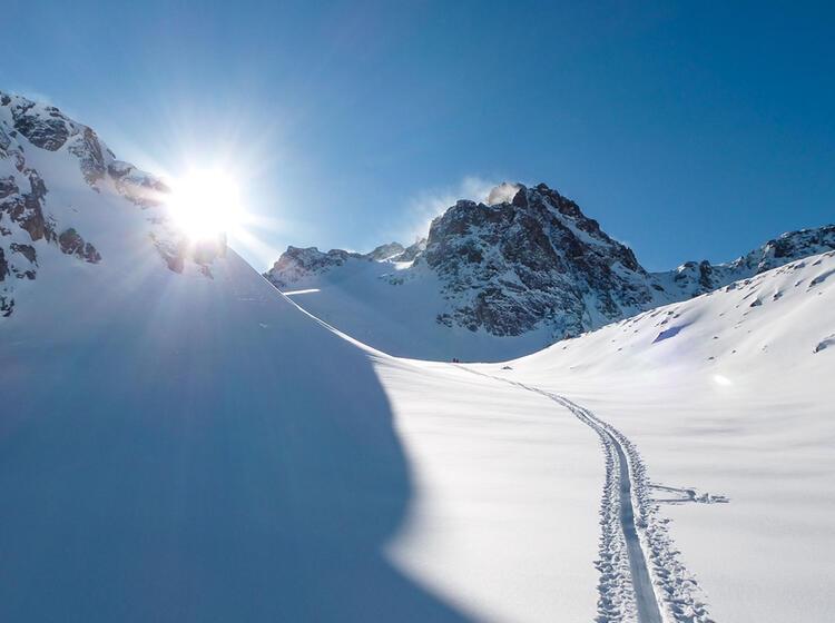 Silvretta Haute Route Mit Bergfuehrer