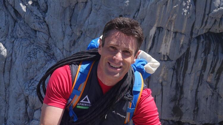 Simon Kraus Bergfuehrer An Der Zugspitze