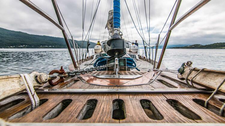 Ski Sail In Norwegen