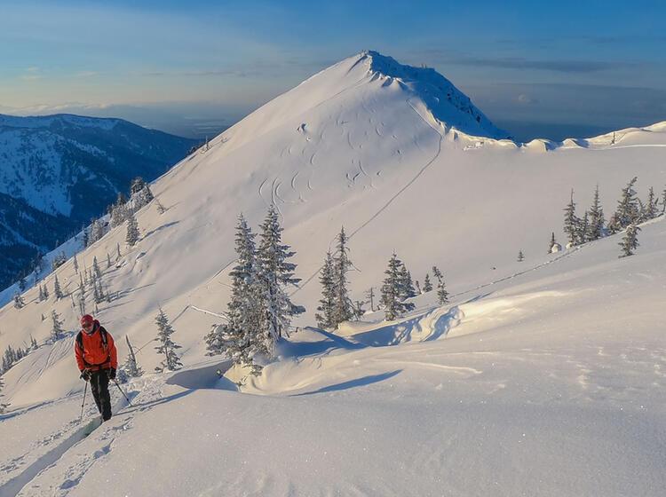 Ski Touren Am Baikalsee