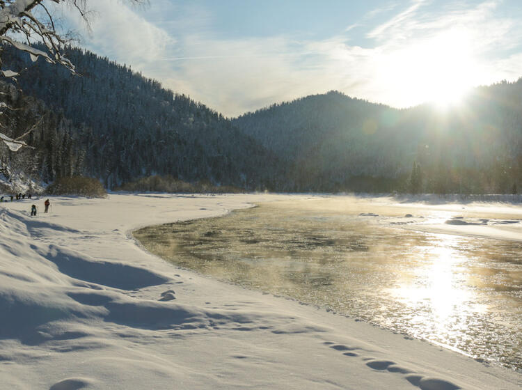 Ski Touren In Sibirien