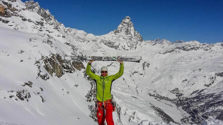 Skidurchquerung Haute Route Mit Bergfuehrer Markus Beck