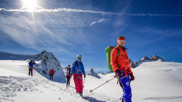 Skidurchquerung Haute Route Mit Bergfuehrer Michael Mautz